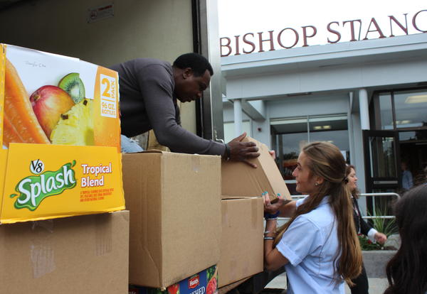 NHS Collects Food for Local Food Pantries