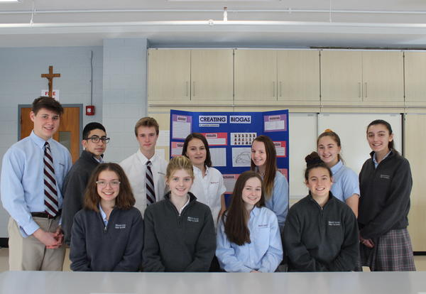 Bishop Stang Science Students Qualify for Regional Science and Engineering Fair
