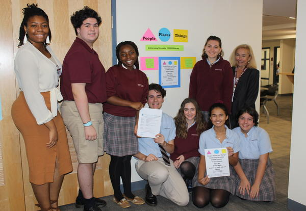 Bishop Stang High School Awarded Library Services and Technology Act Grant