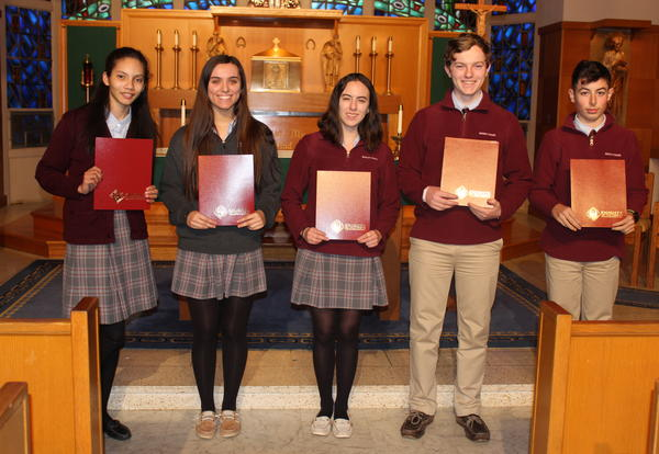 Bishop Stang Students Awarded for Essays