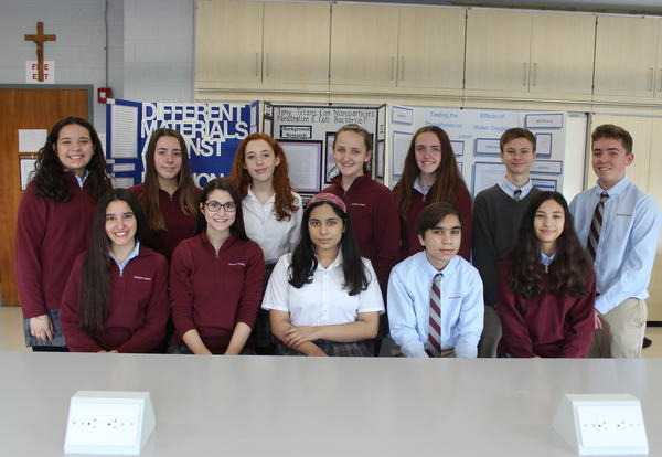 Stang Students Shine at Science Fair