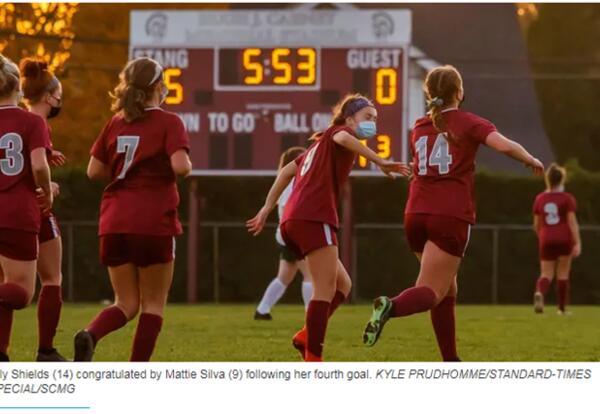 Photo Girls Soccer Player