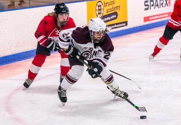 Maddie Andre ice hockey