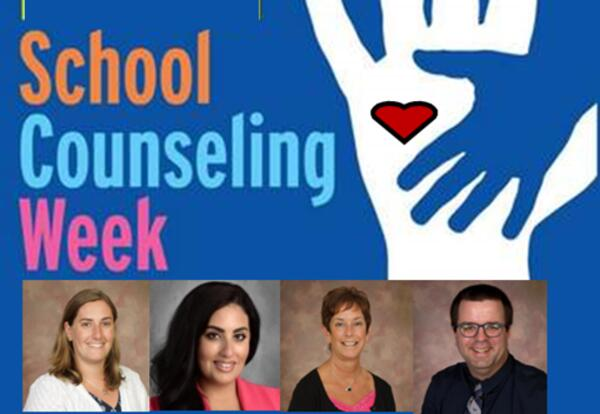 Thank You School Counselors poster
