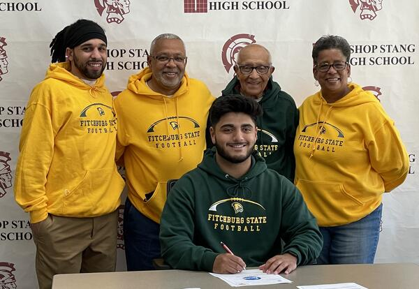 Jacob Figueiredo and Coaches
