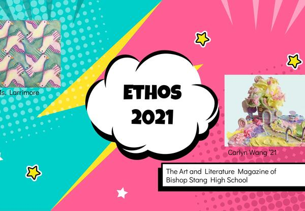 Front cover of ETHOS 2021 Magazine