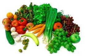 Different kinds of vegetables