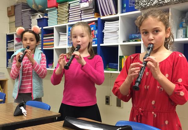 Music Class Hits a High Note