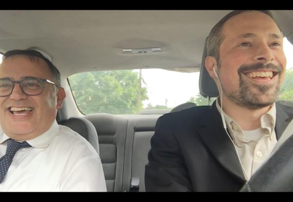 Rabbis in Cars Getting Clarity: A Video!