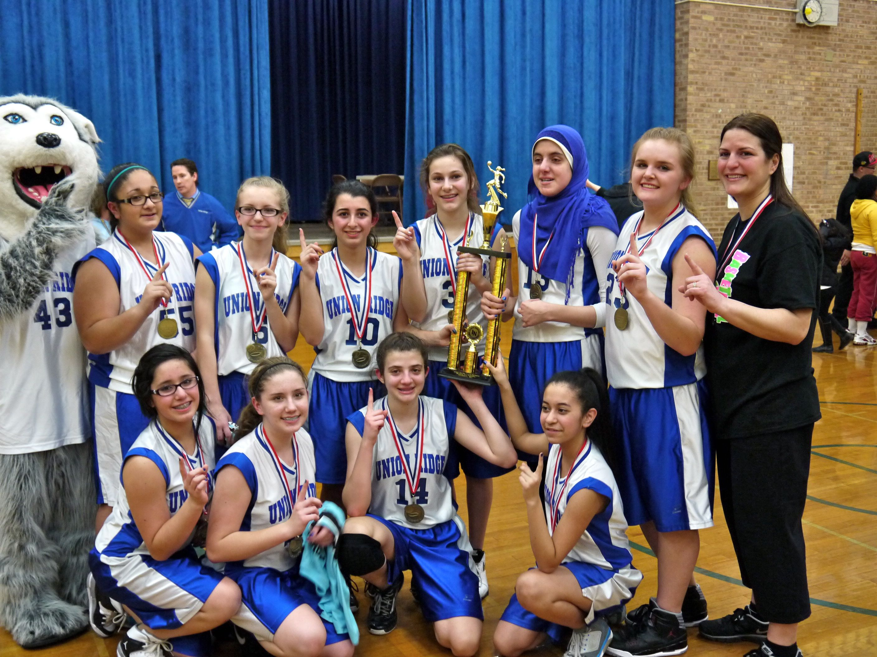Girl Basketball Champions