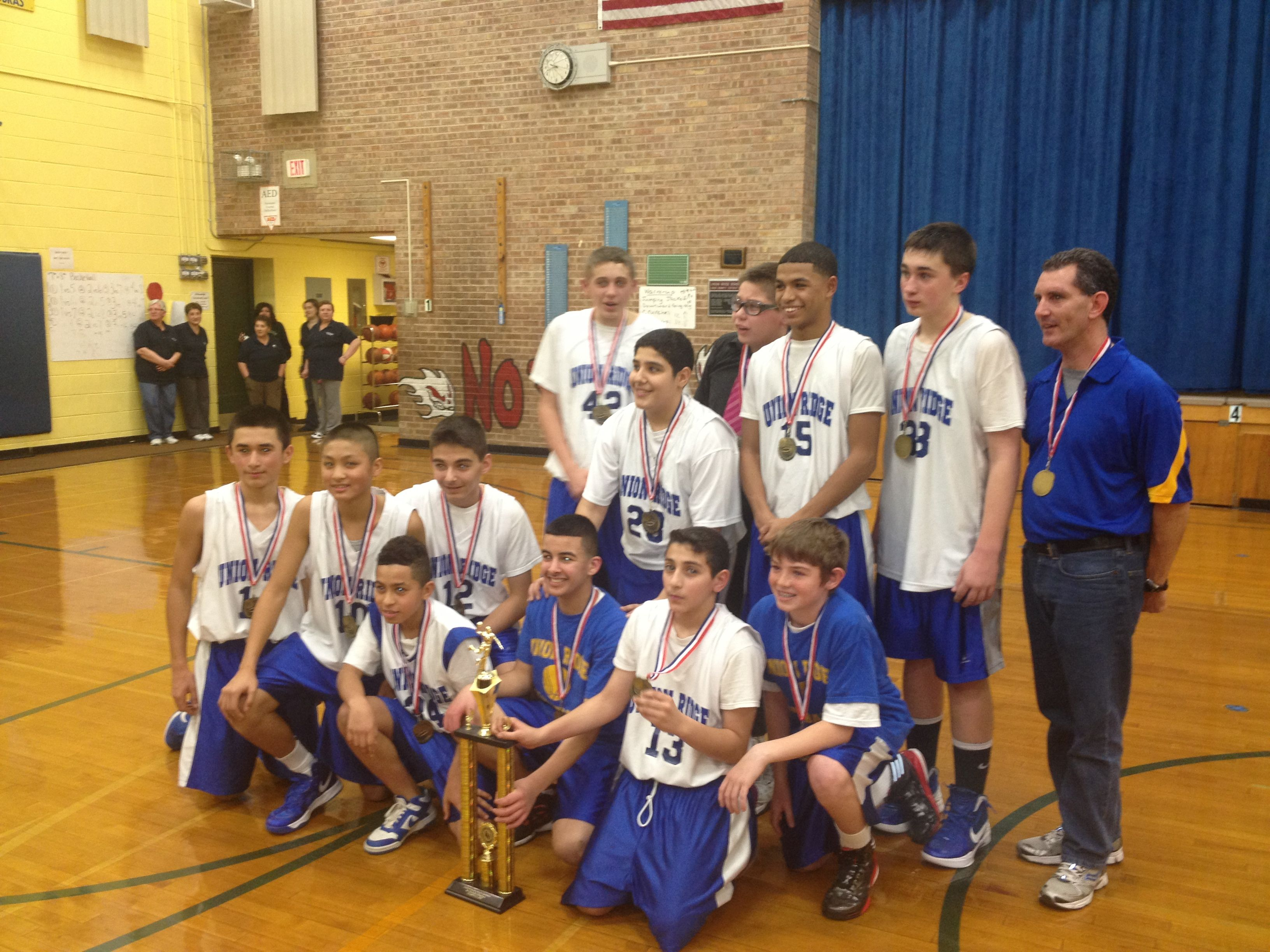 Boy Basketball Champions