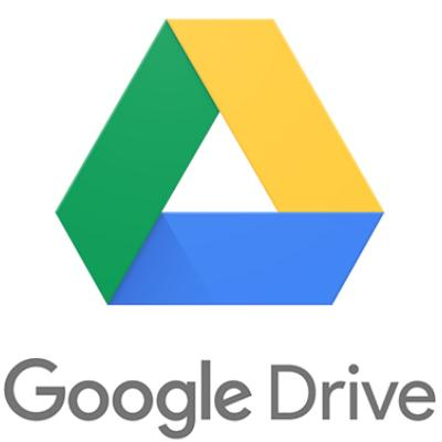 logo of google drive, our cloud storage.