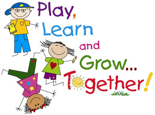 image of play learn and grow together