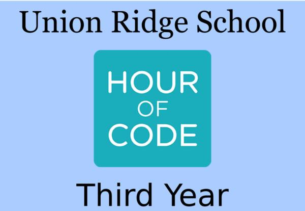 "6th Grade Participating in ""Hour of Code"""