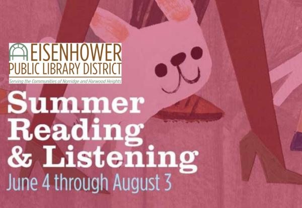 Eisenhower summer reading poster
