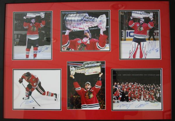 image BLACKHAWKS COLLAGE RAFFLE