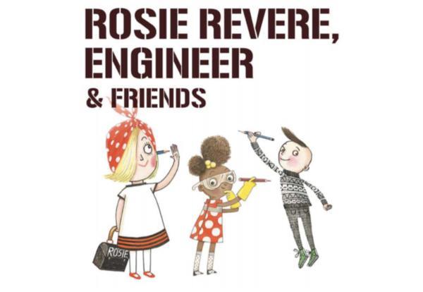 Rosie Revere Comes to Union Ridge