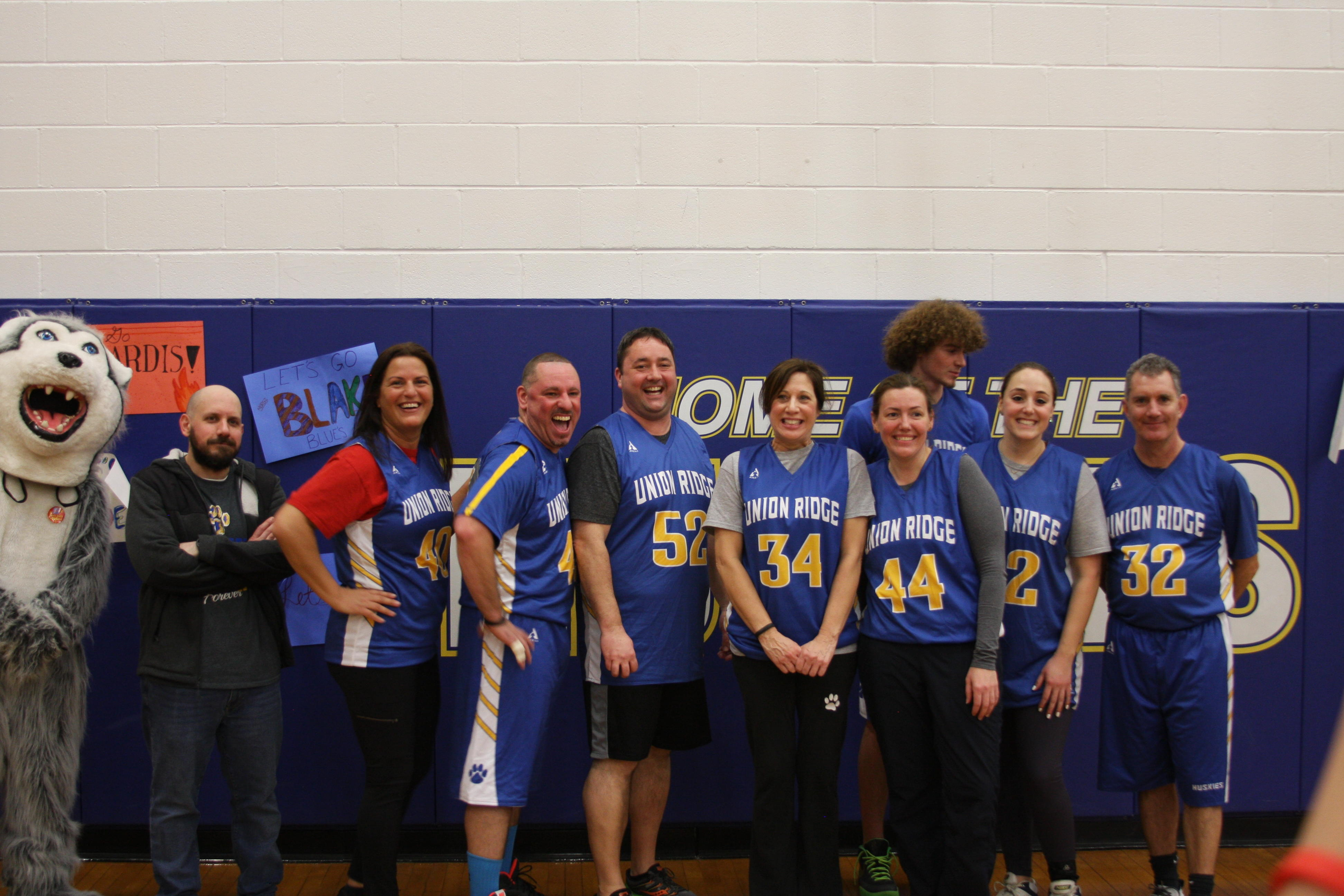 hoops for heart teacher's team