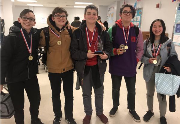 Congratulations to the Junior Varsity Scholastic Bowl Team