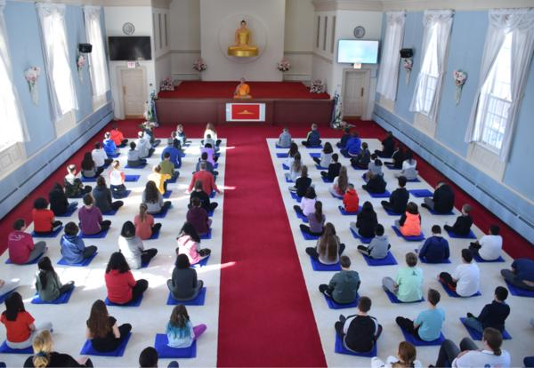 Sixth Grade Recently Visited The Meditation Center of Chicago