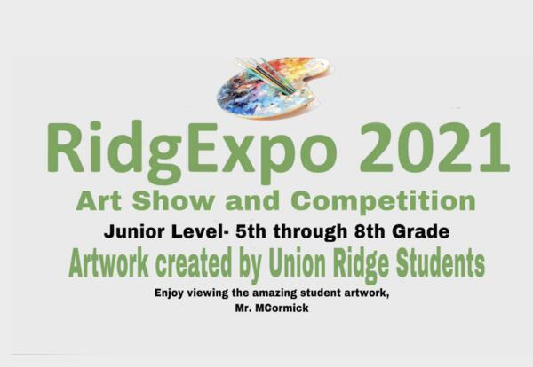 RidgExpo Art Show and Competition 2021- Junior Level