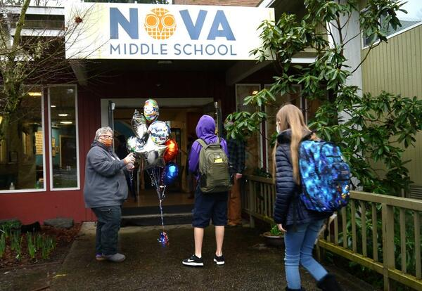 NOVA Middle School to expand successful hybrid learning program