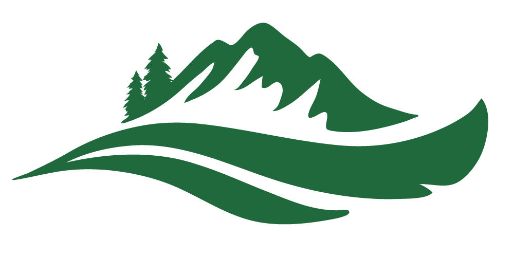 FRC Logo Mountain Only Green