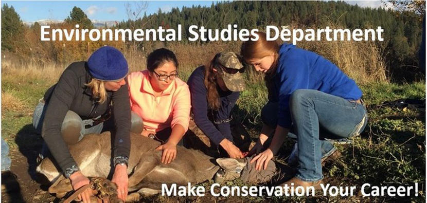 Environmental Studies Department, Make Conservation your Career!