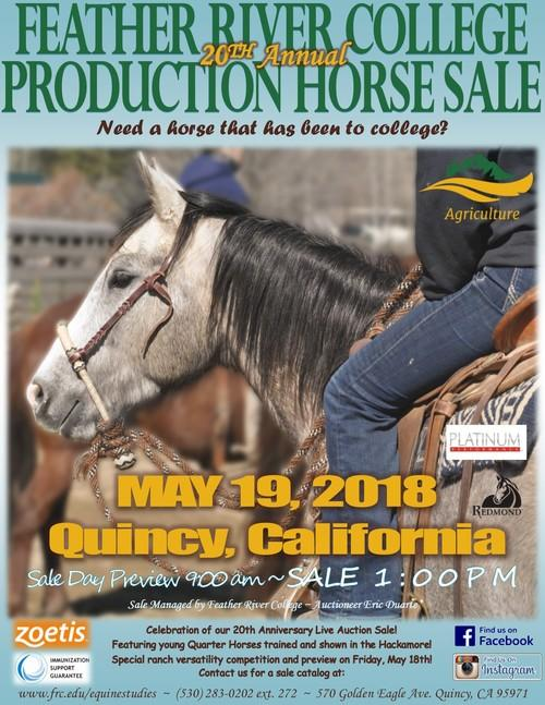 FRC 20th Annual Production Horse Sale