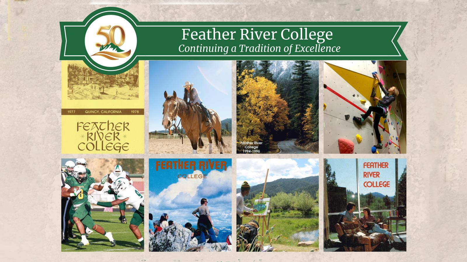 Feather River College Celebrates its 50th Anniversary!
