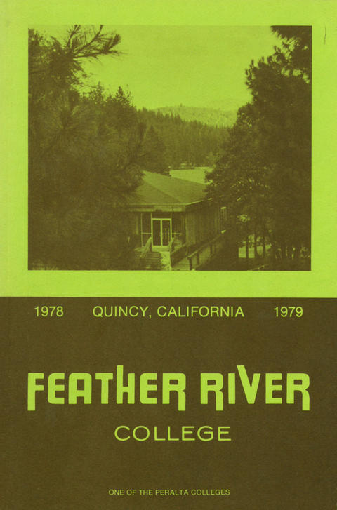 1978-1979 catalog, Front cover