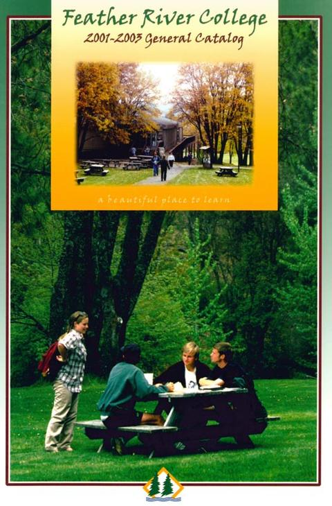 2001-2003 catalog, Front cover