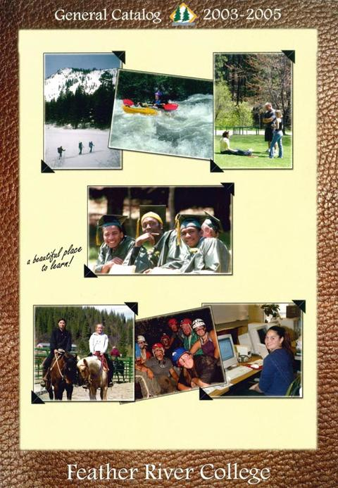 2003-2005 catalog, Front cover