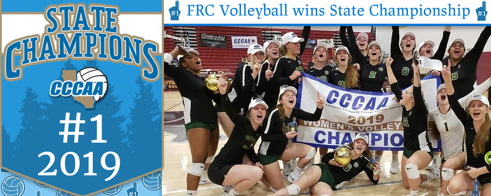 FRC volleyball wins CCCAA state championship