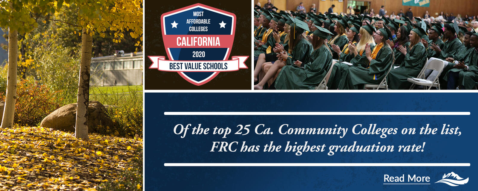 FRC is recognized as one of the Best Value Schools in CA.