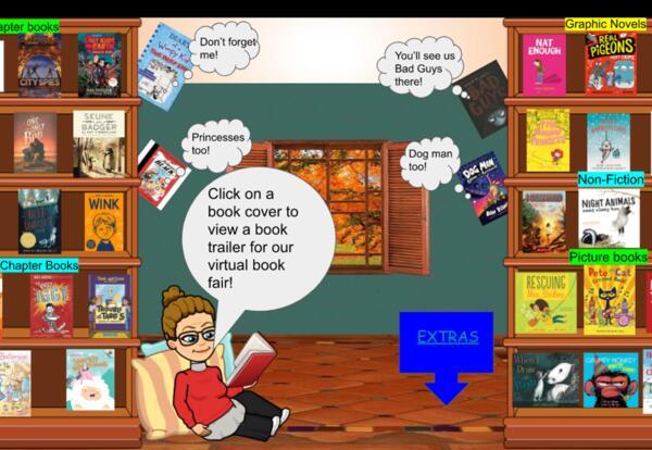 Virtual Library Book Fair Coming Soon!
