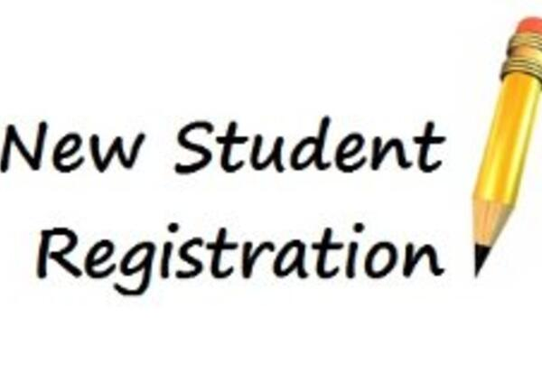 Pre-Registration for New Students