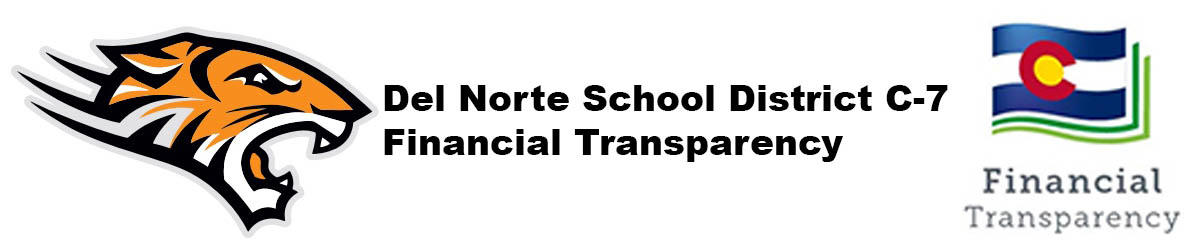 Del Norte School District C-7 Financial Transparency Banner