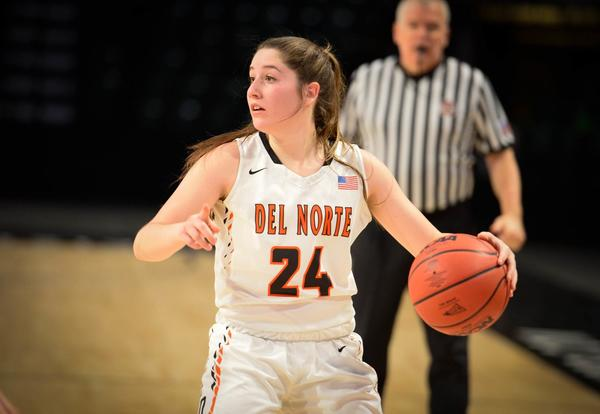 Congratulations Kendra Parra! 2A Girls Basketball Player of the Year