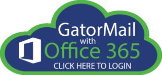 GatorMail with Office 365 login logo