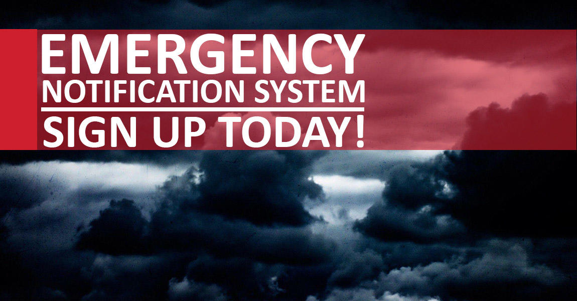 Image of the College Emergency Notification System.