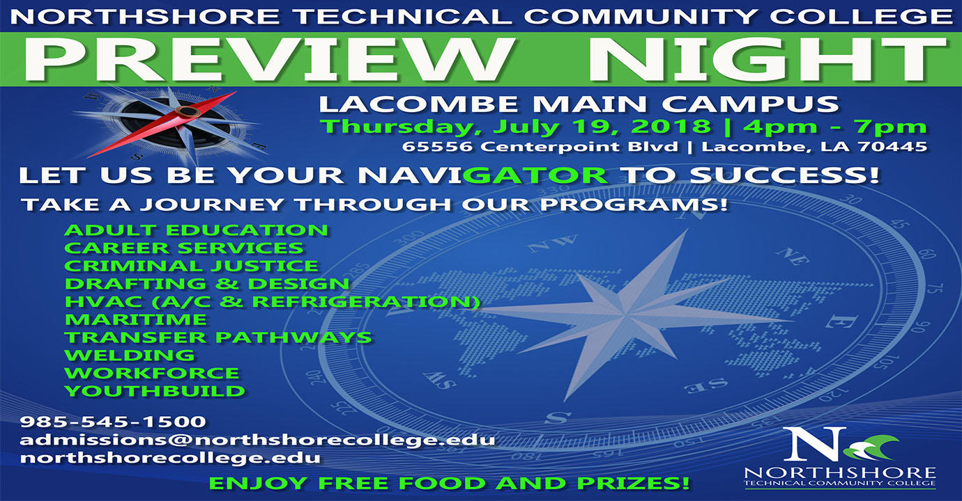 Preview Night at Lacombe Campus - Thursday, July 19, 2018 from 4pm - 7pm