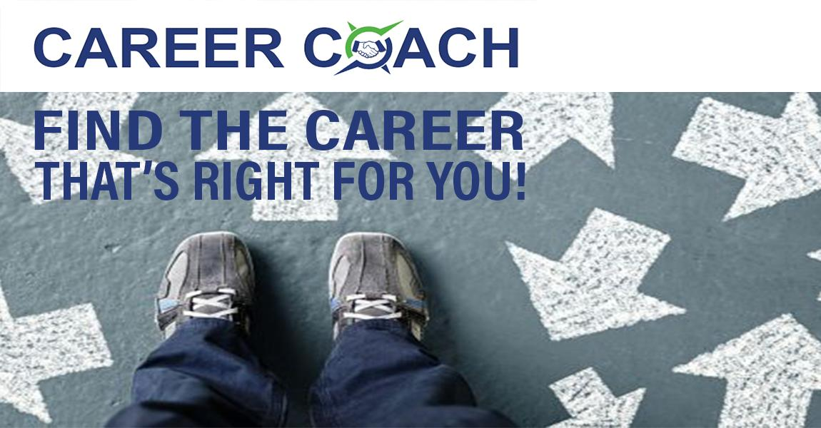 Career Coach - Find the career that's right for you!  Image
