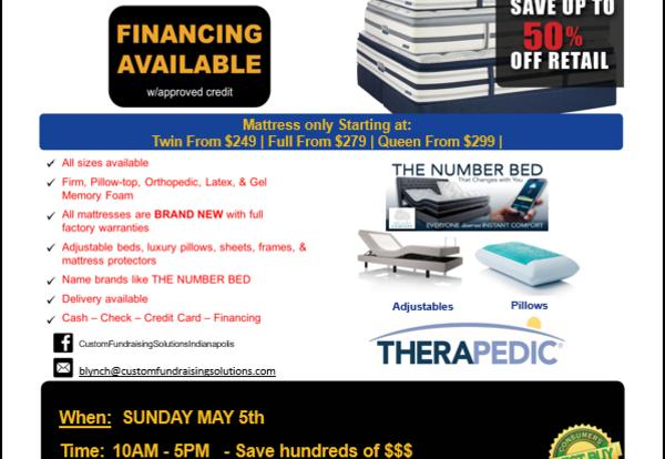 TWHS Band Mattress Sale
