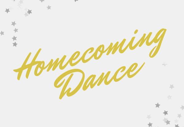 Homecoming Dance Flyer