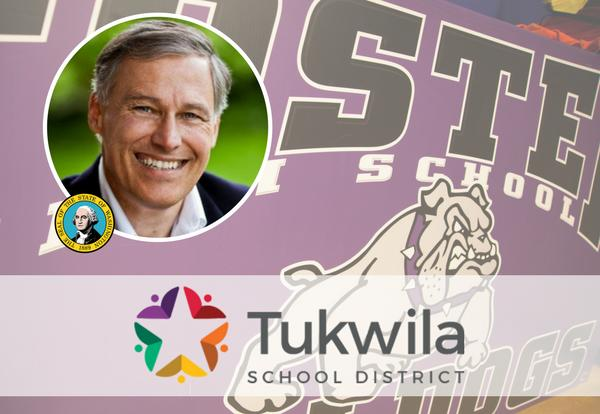 Gov. Jay Inslee signs package of bills at Foster High School!