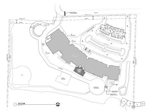 Tukwila Elementary School Site Plan for Notice Image
