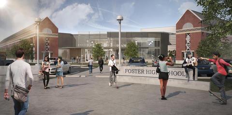 Foster HS Render