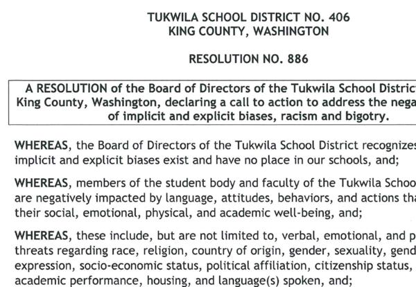 Image of Board Resolution 886 text