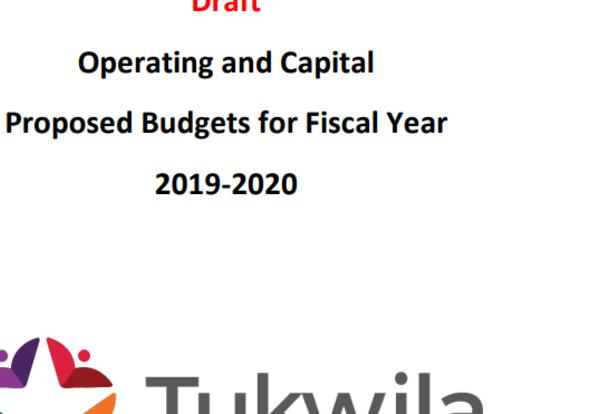2019-2020 Operating and Capital Budget